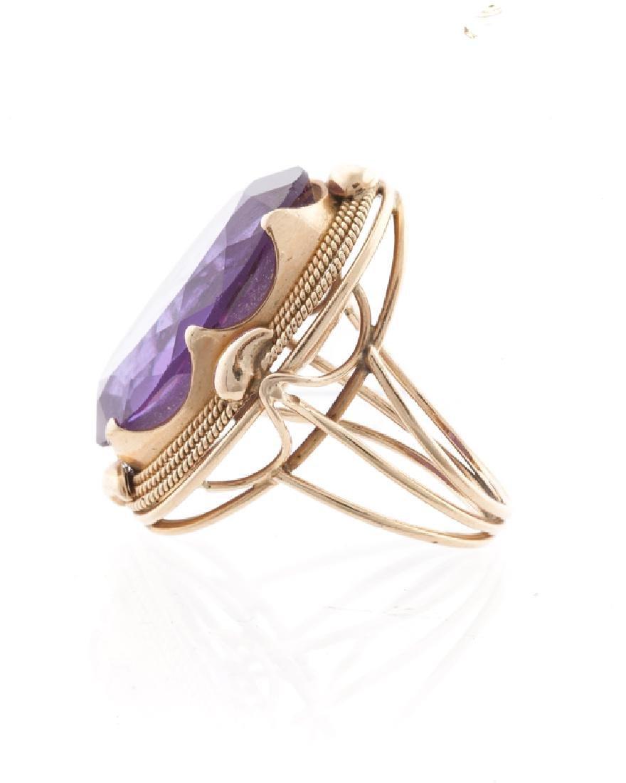 A gemstone ring - 2