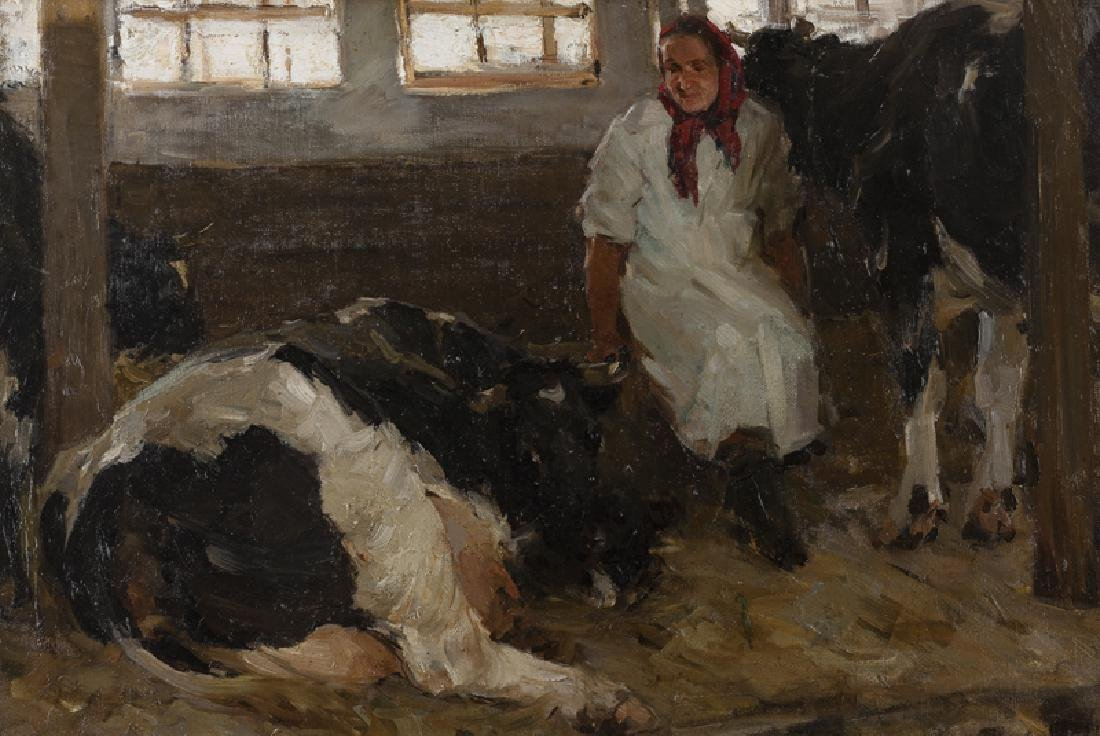 20th Century Russian Impressionist School