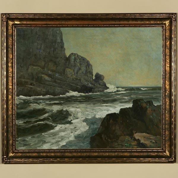 1019: GEORGE BICKERSTAFF, ROCKY COVE, OIL