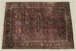 1225 A PERSIAN SAROUK WOOL RUG CARPET