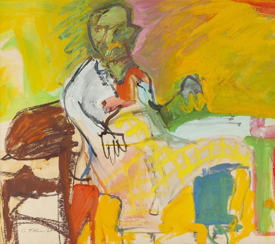 Carol Tolin (1916 - 1996 Venice, CA)