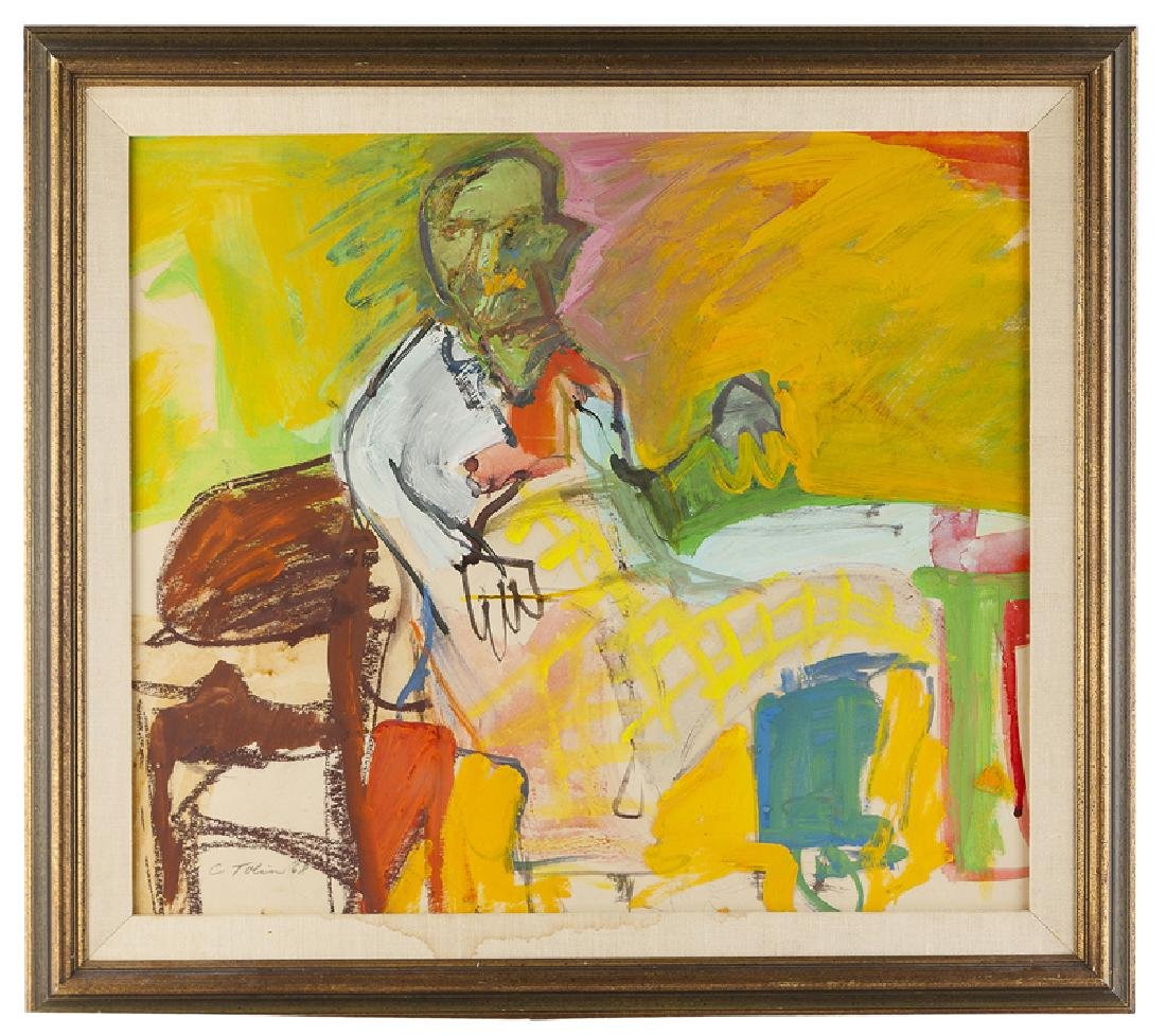 Carol Tolin (1916 - 1996 Venice, CA) - 2