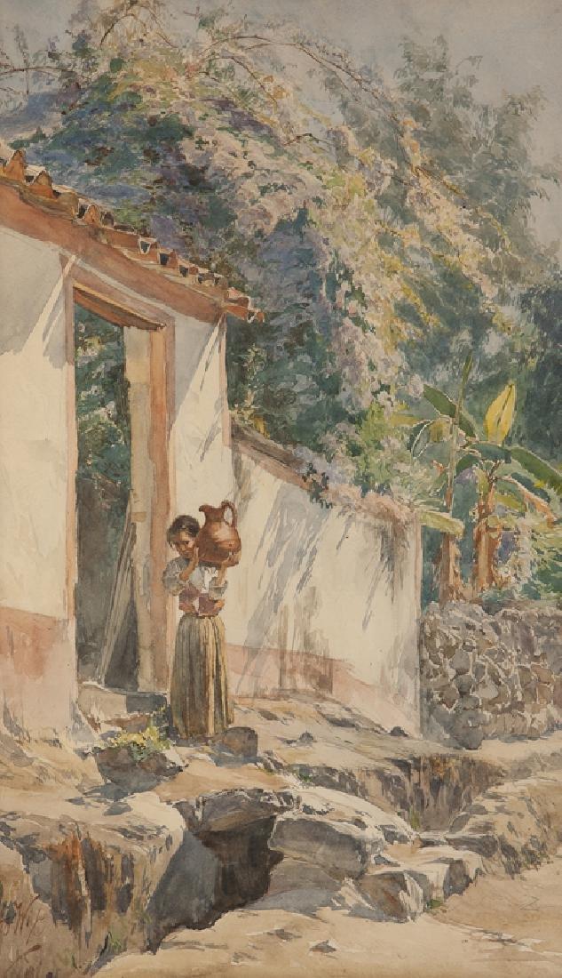 Henry Otto Wix (1866 - 1922 Santa Barbara, CA)