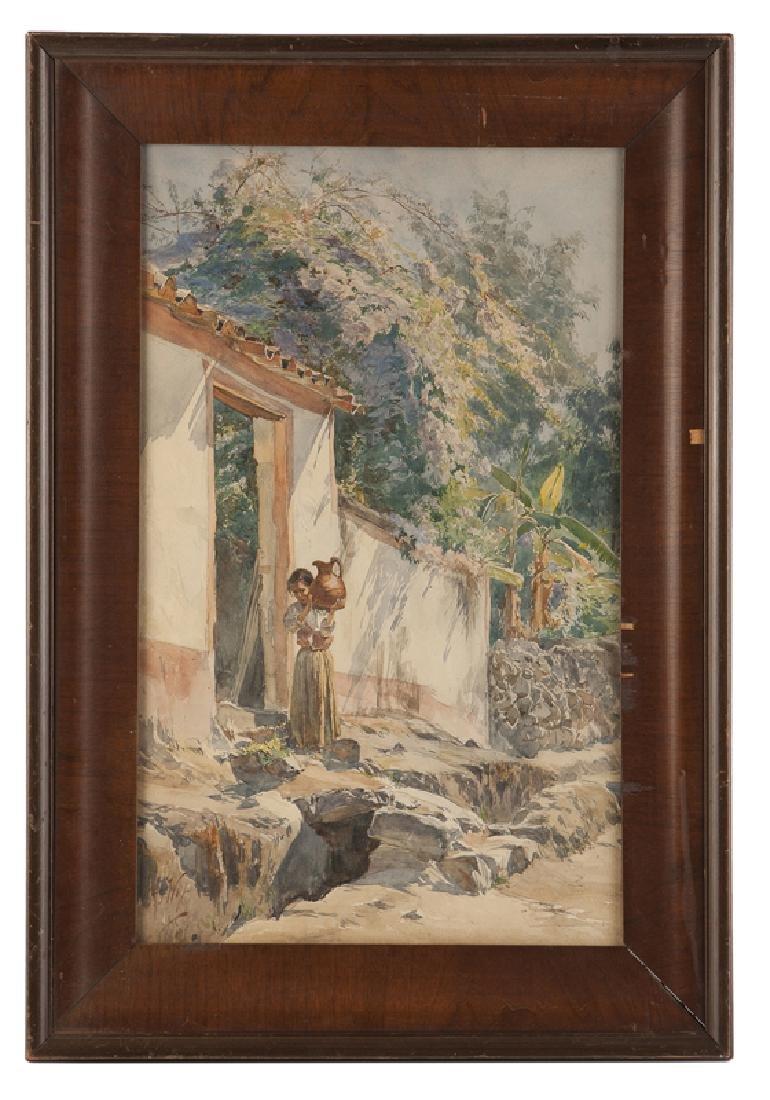 Henry Otto Wix (1866 - 1922 Santa Barbara, CA) - 2