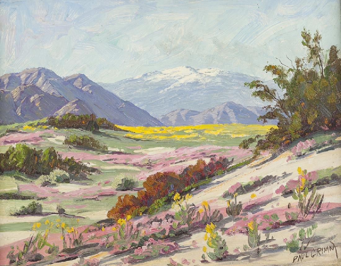 Paul Grimm (1891 - 1974 Palm Springs, CA)
