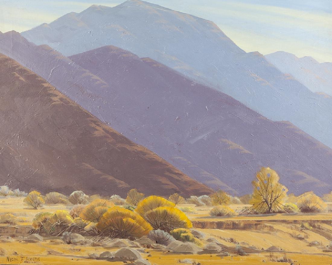 Naomi Taylor Evans (1900 - 1969 Los Angeles, CA)