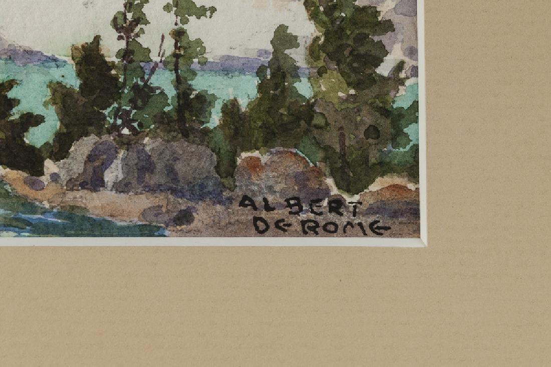 Albert Thomas De Rome (1885 - 1959 Carmel, CA) - 3