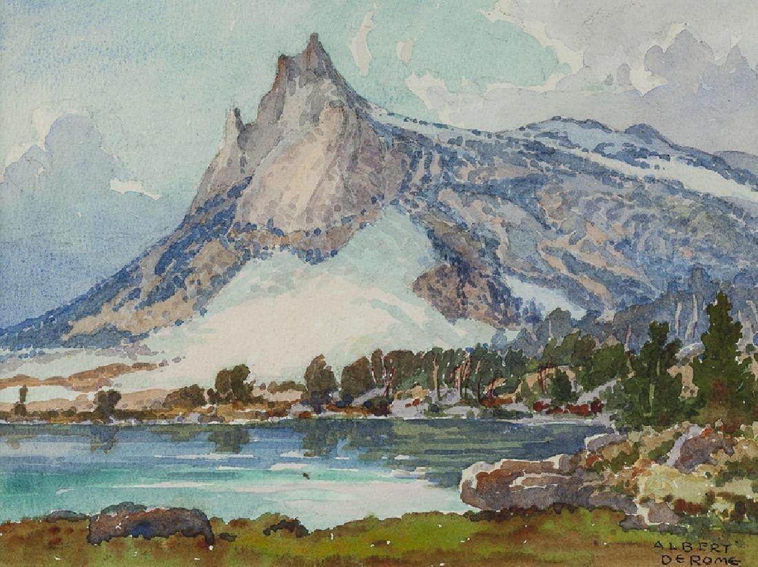 Albert Thomas De Rome (1885 - 1959 Carmel, CA)