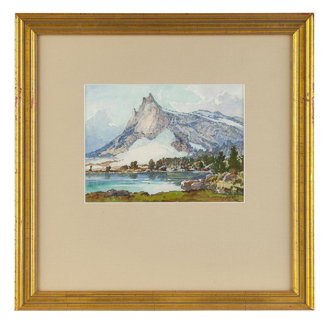 Albert Thomas De Rome (1885 - 1959 Carmel, CA) - 2