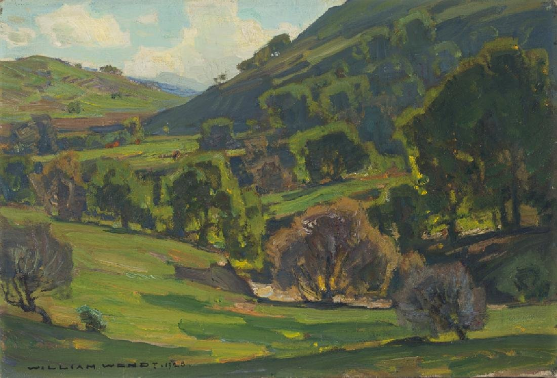 William Wendt ANA (1865 - 1946 Laguna Beach, CA)