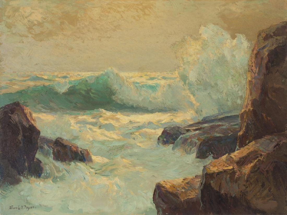 Frank Harmon Myers (1899 - 1956 Pacific Grove, CA)