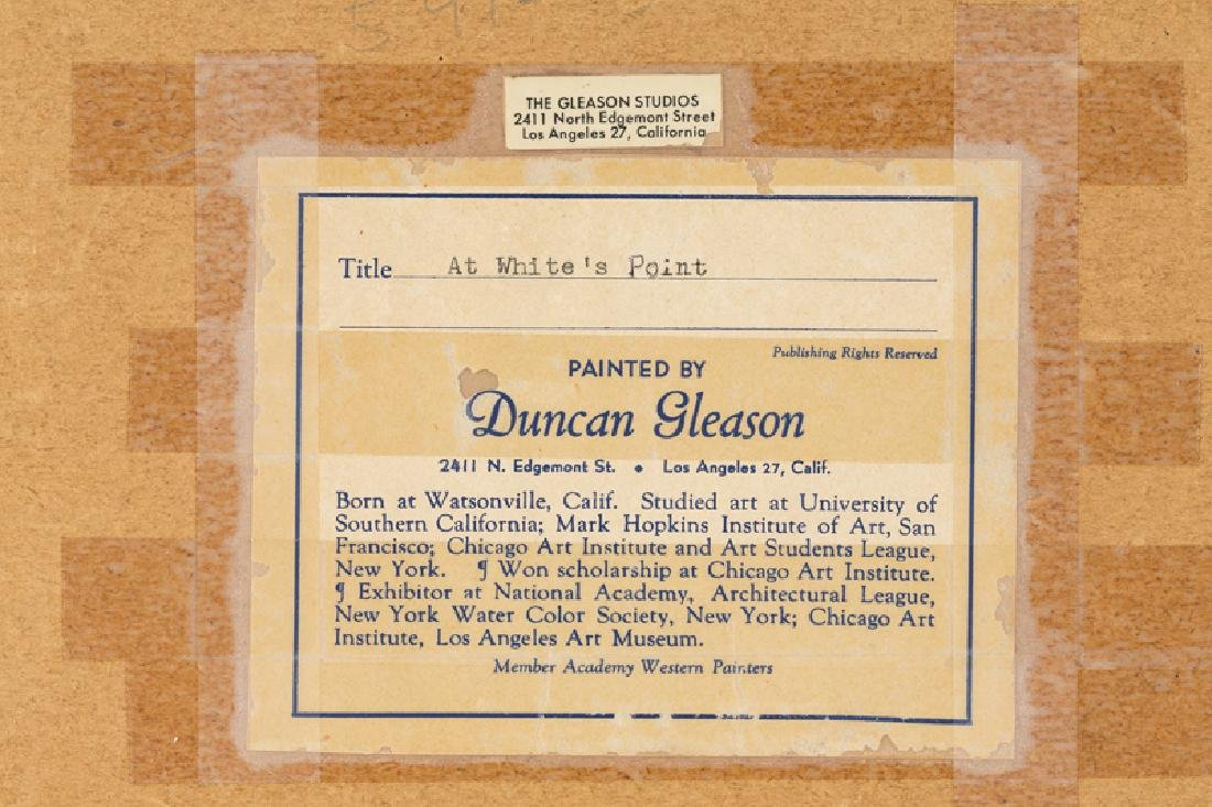 Joe Duncan Gleason (1881 - 1959 Glendale, CA) - 5