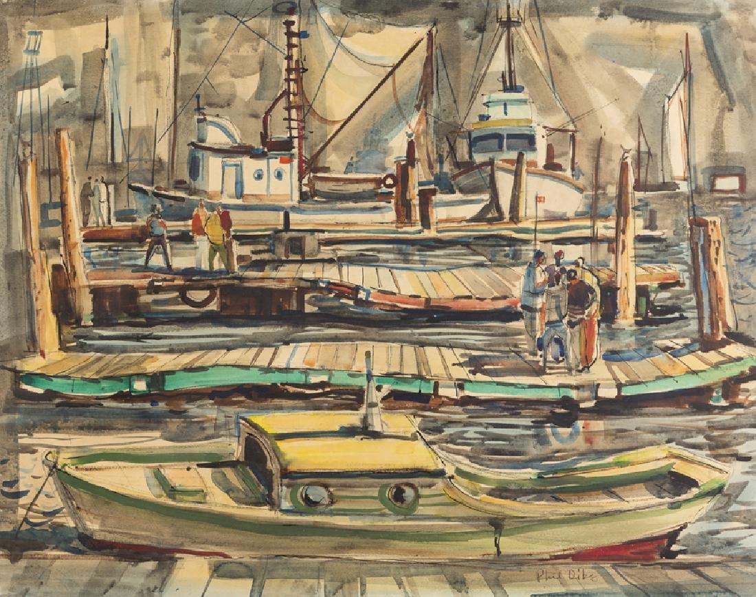Phil Latimer Dike NA (1906 - 1990 Claremont, CA)