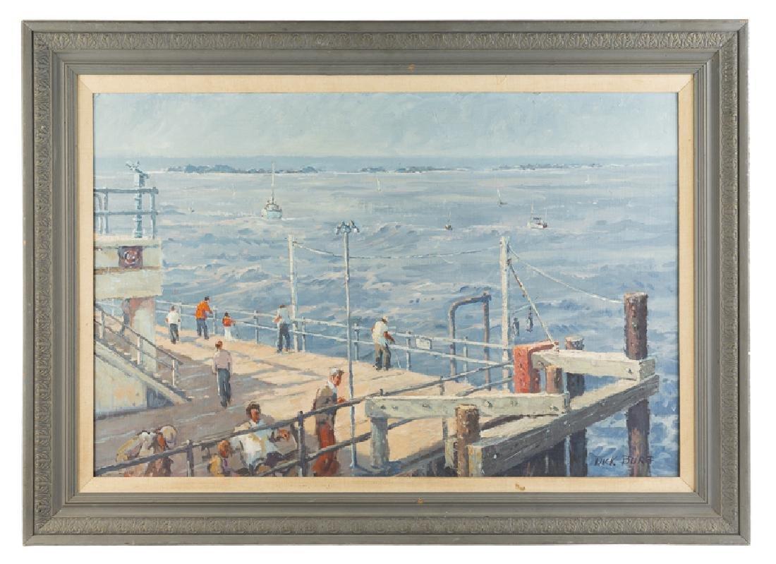 Dick Burg (1911 - 1994 Los Angeles, CA) - 2