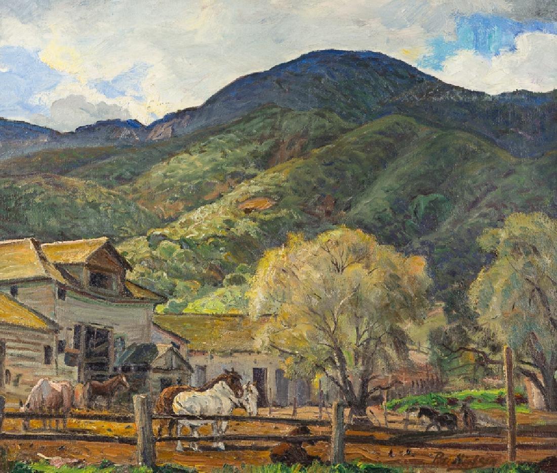 Peter Nielsen (1873 - 1965 Santa Ana, CA)