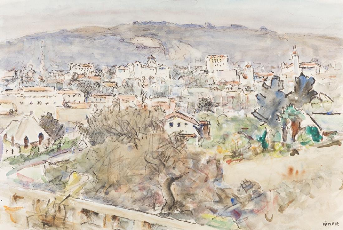 Clarence Hinkle (1880 - 1960 Santa Barbara, CA)
