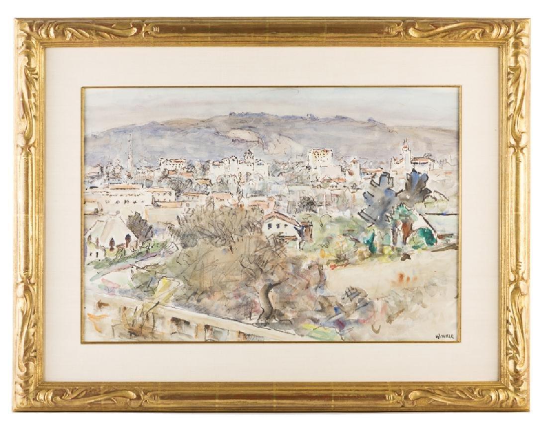 Clarence Hinkle (1880 - 1960 Santa Barbara, CA) - 2