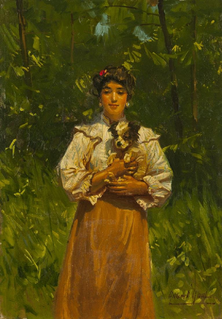 Gilbert Gaul (1855 - 1919 New York, NY)