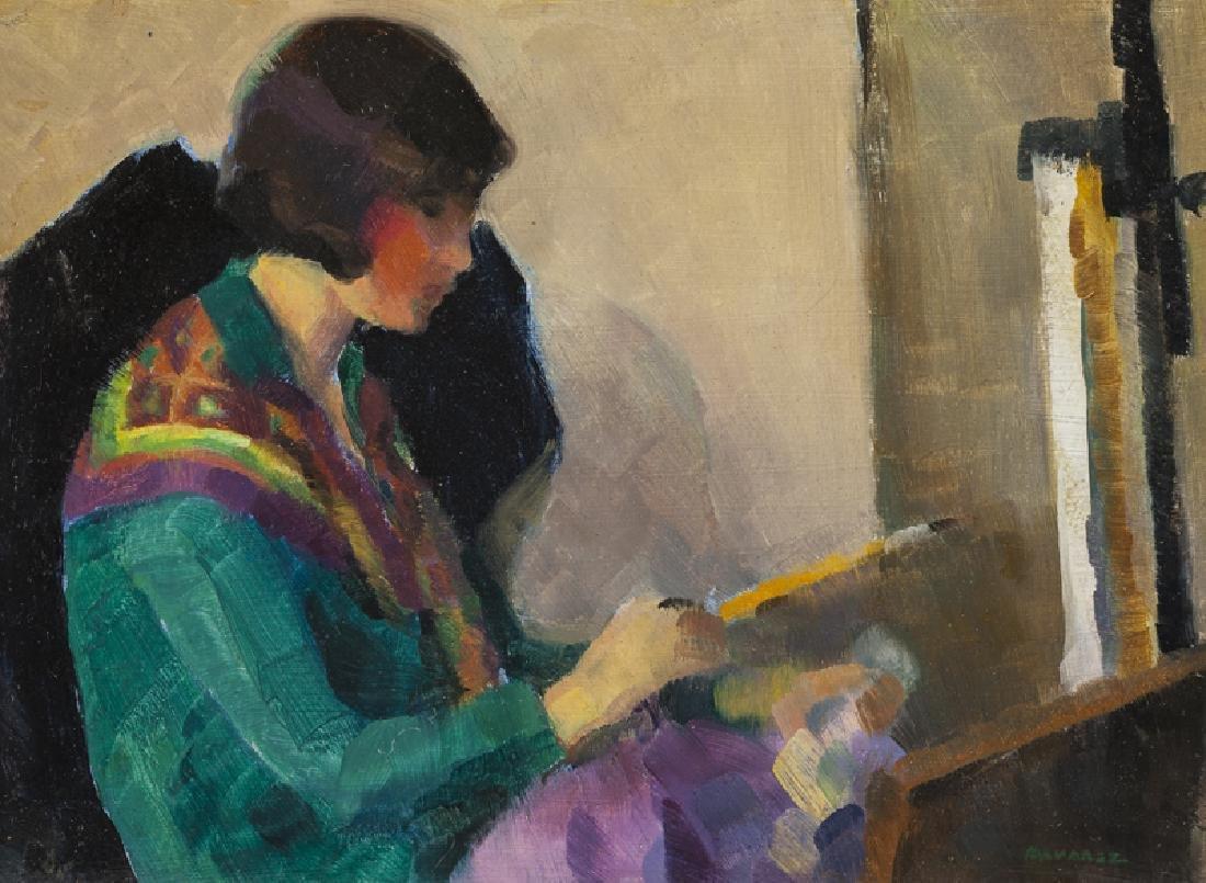 Mabel Alvarez (1891 - 1985 Los Angeles, CA)