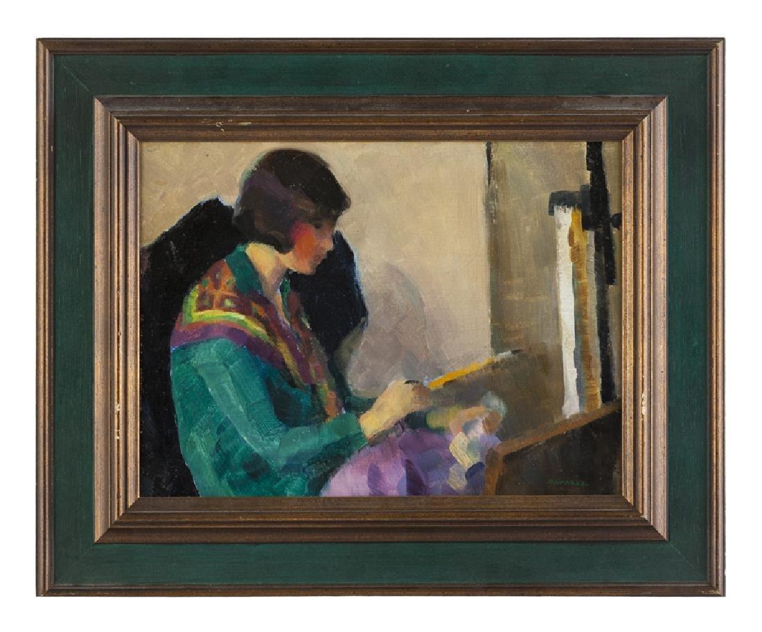 Mabel Alvarez (1891 - 1985 Los Angeles, CA) - 2