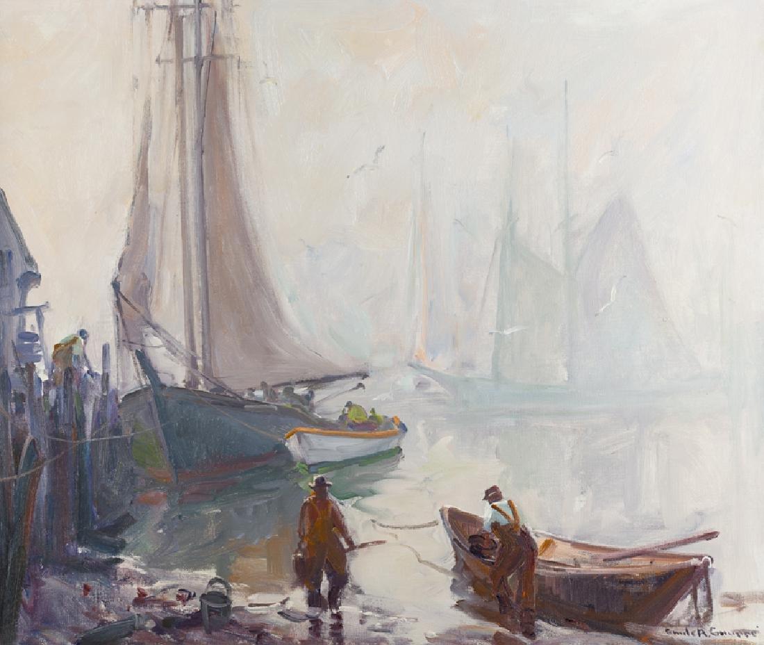 Emile Albert Gruppe (1896 - 1978 Gloucester, MA)