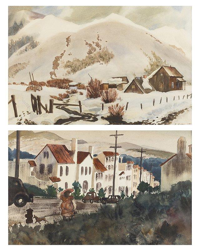 Standish Backus, Jr. (1910 - 1989 Santa Barbara, CA)