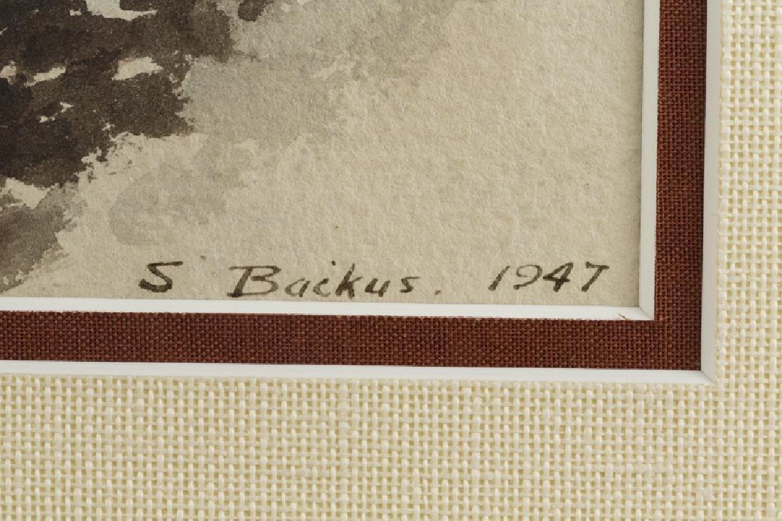 Standish Backus, Jr. (1910 - 1989 Santa Barbara, CA) - 5