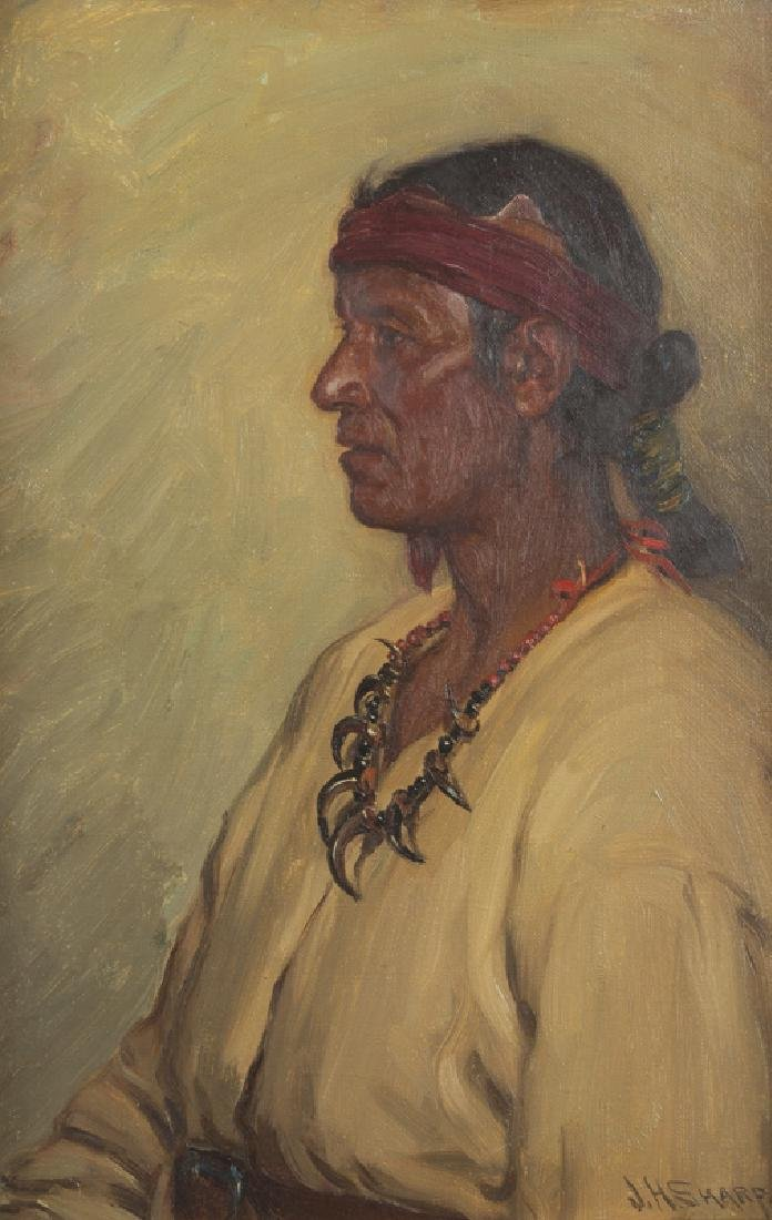 Joseph Henry Sharp (1859 - 1953 Taos, NM)