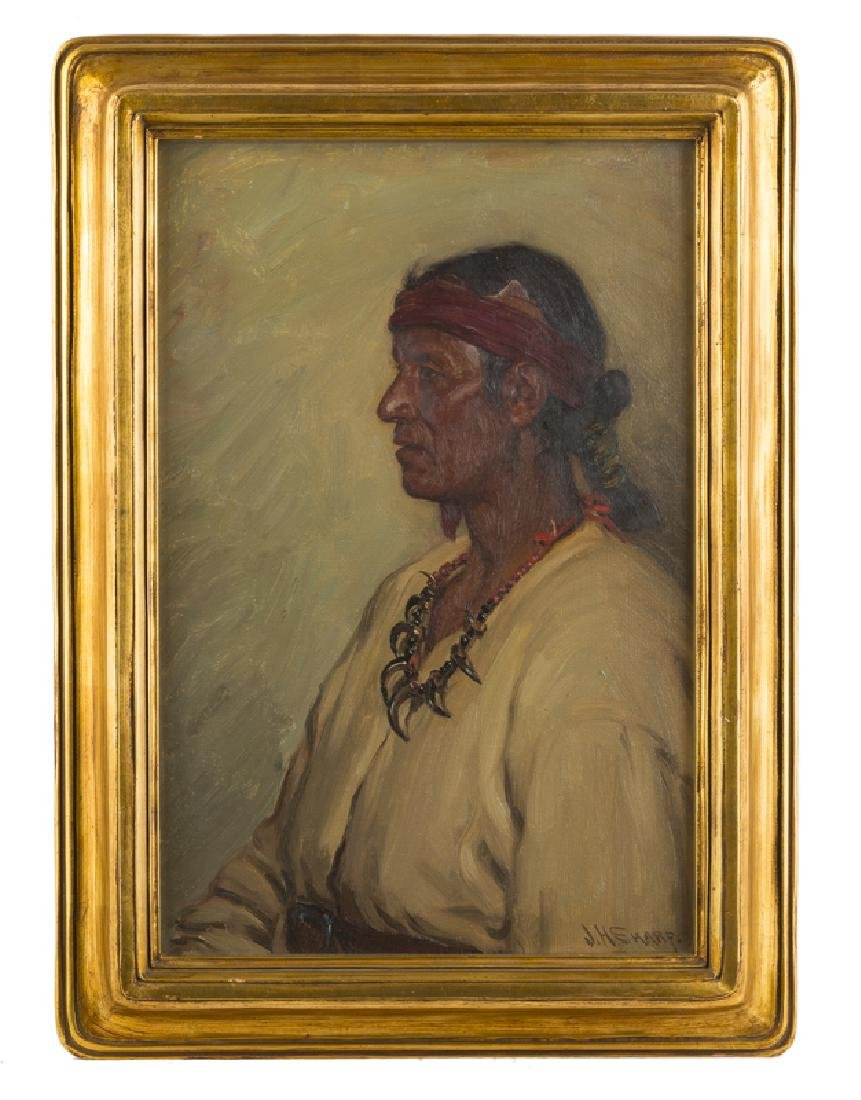 Joseph Henry Sharp (1859 - 1953 Taos, NM) - 2