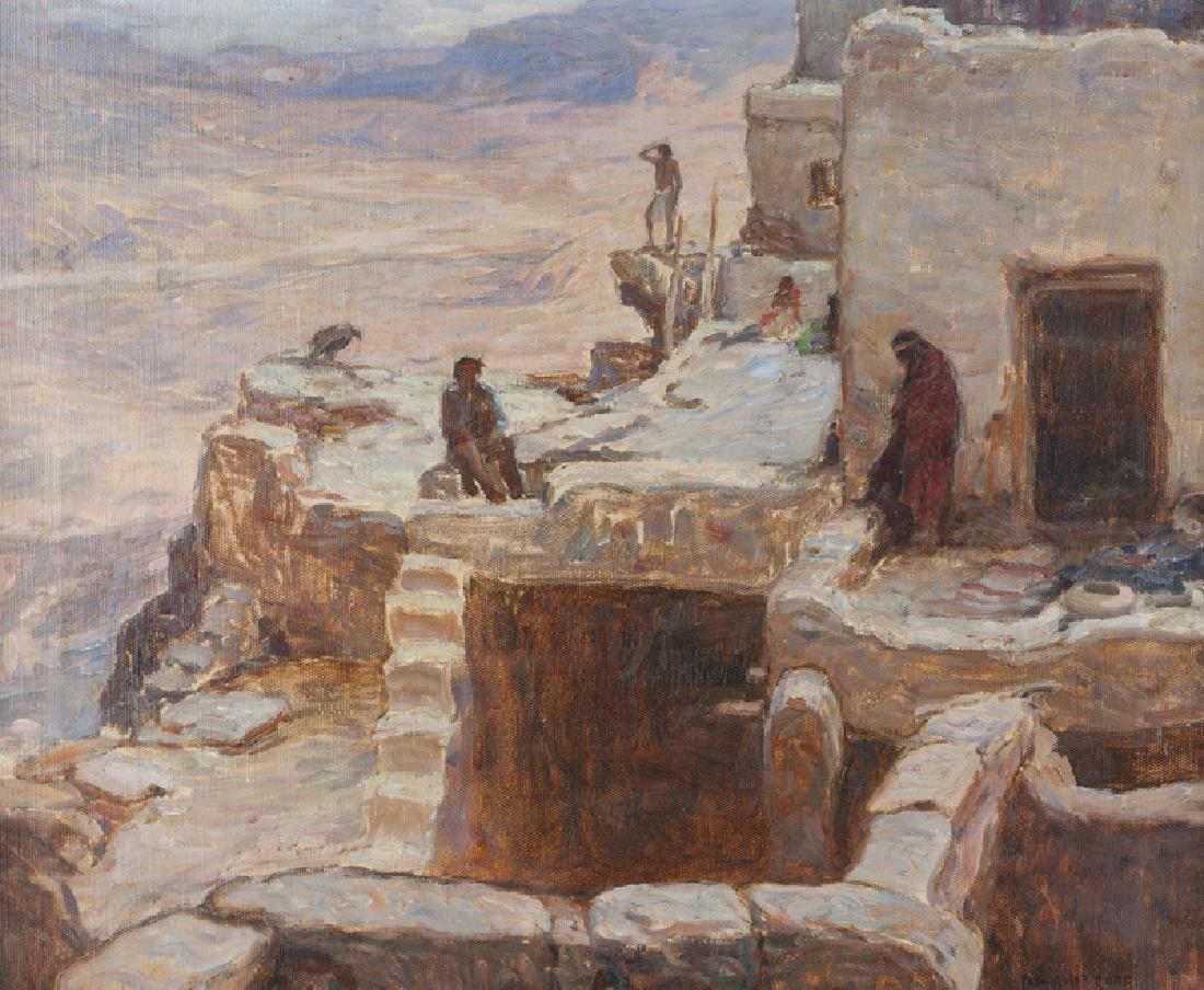 Carl Oscar Borg (1879 - 1947 Santa Barbara, CA)