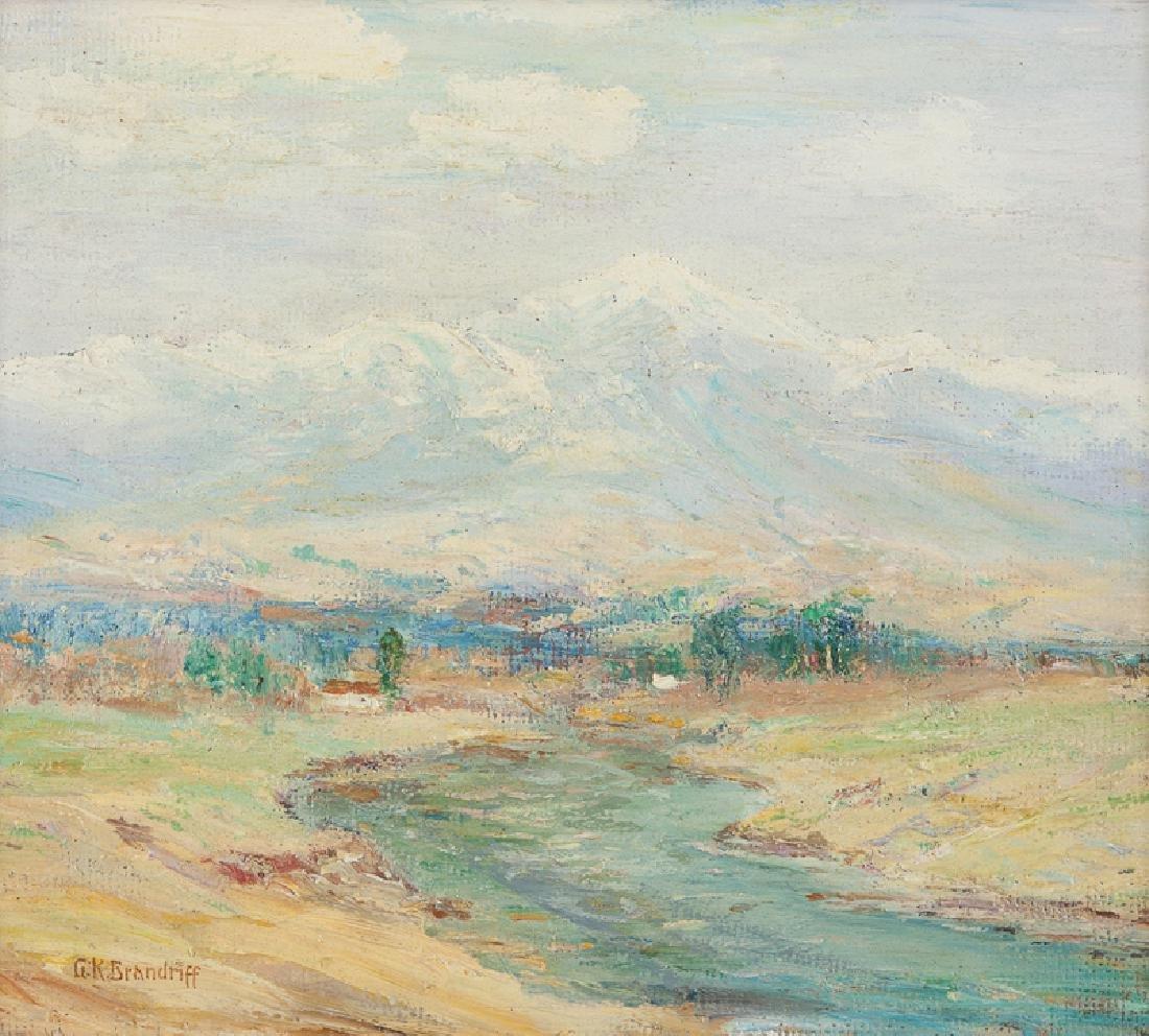 George K. Brandriff (1890 - 1936 Laguna Beach, CA)