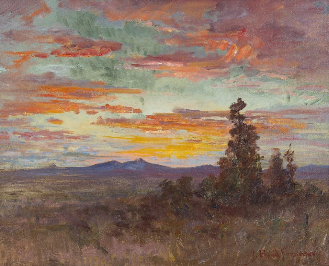 John Bond Francisco (1863 - 1931 Los Angeles, CA)