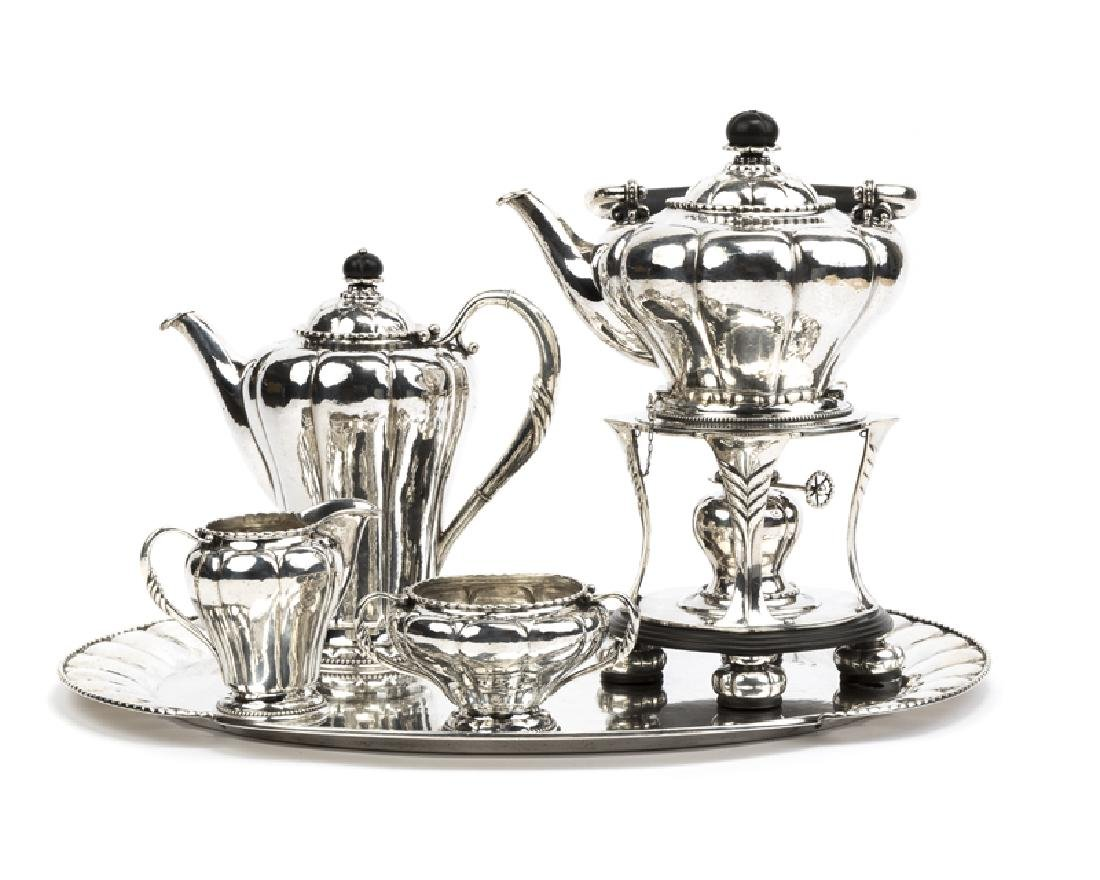 A Georg Jensen ''No. 3'' sterling silver coffee service