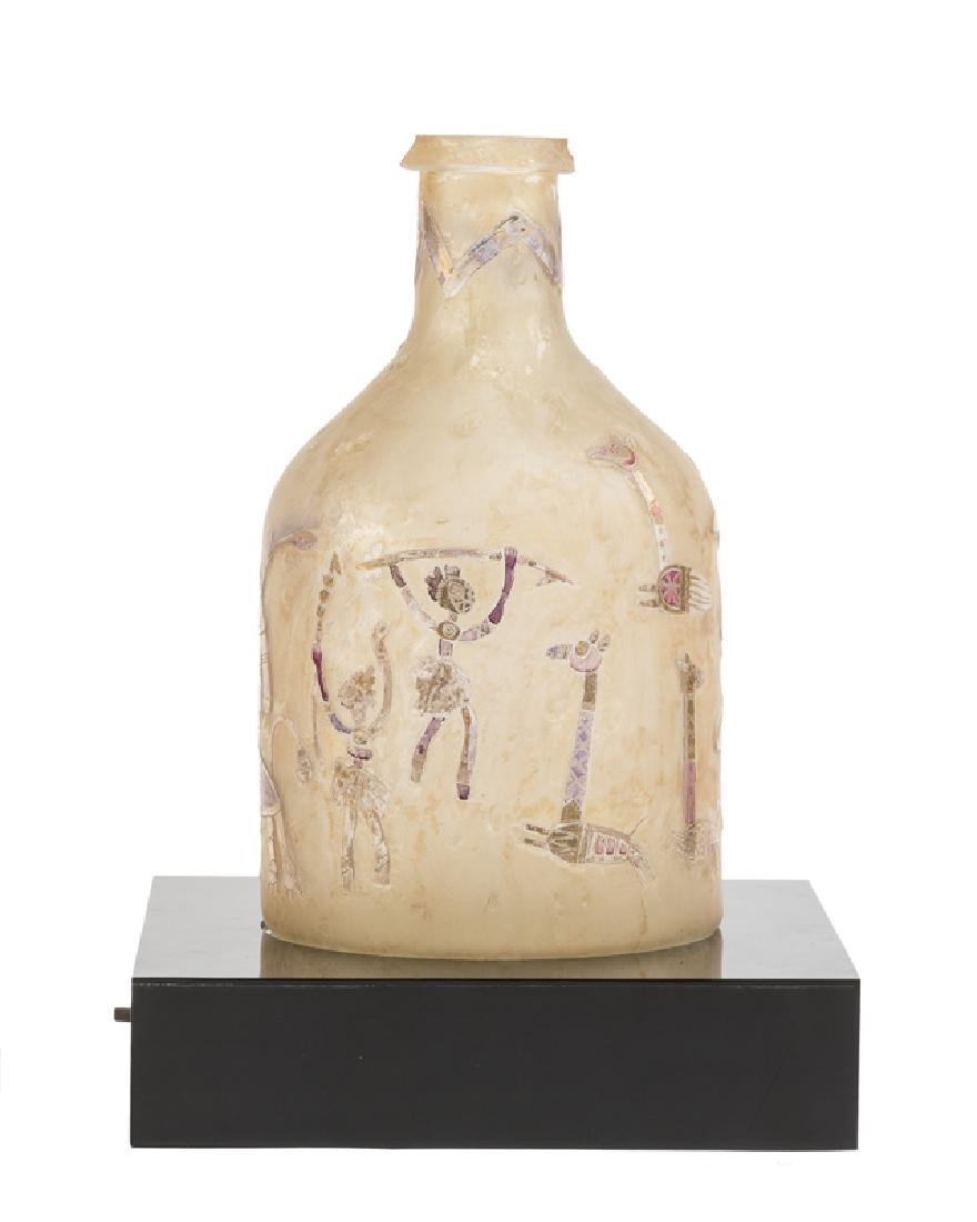 A Modern art glass vessel