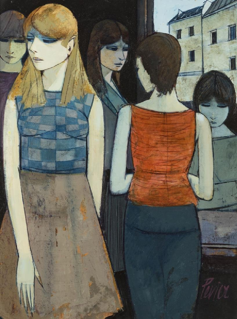 Charles Levier (1920 - 2003 French)
