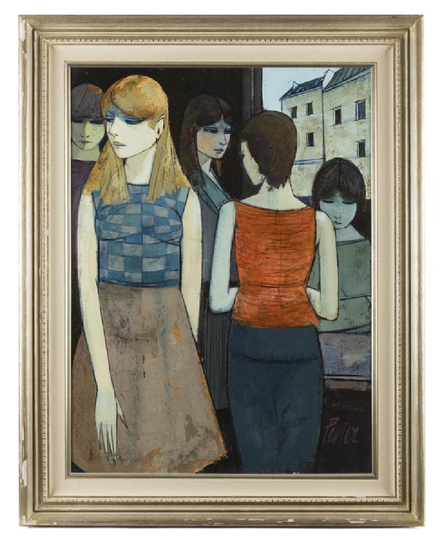 Charles Levier (1920 - 2003 French) - 2