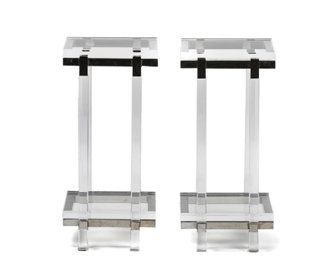 A pair of pedestal tables, Charles Hollis Jones - 2