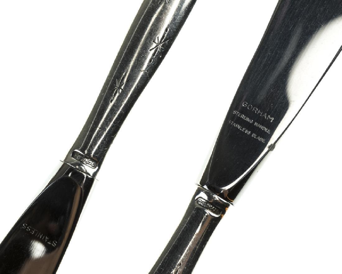 A Gorham ''Stardust'' sterling silver flatware service - 2