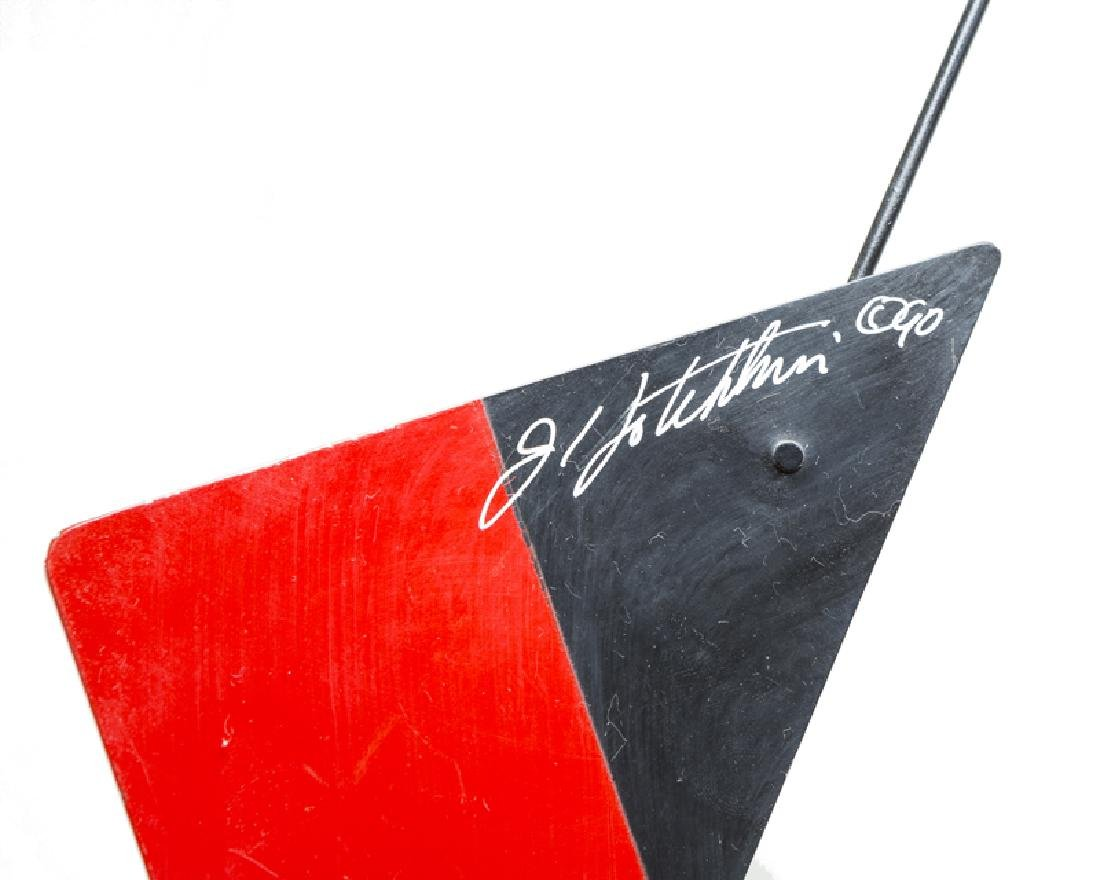 A contemporary geometric hanging mobile - 3