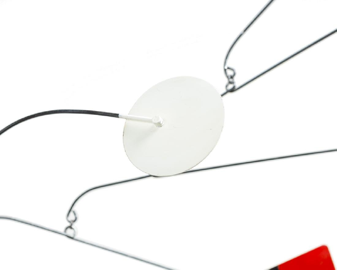 A contemporary geometric hanging mobile - 4