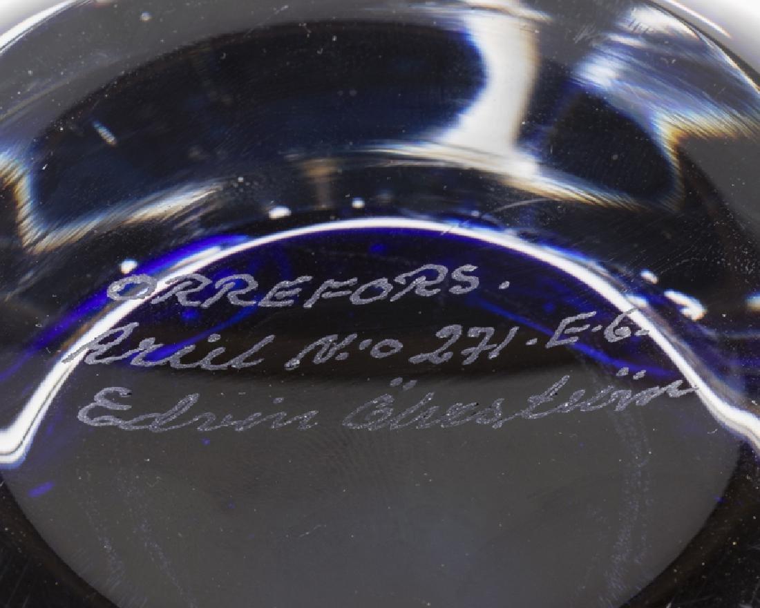 An Edvin Ohrstrom for Orrefors art glass vase - 4