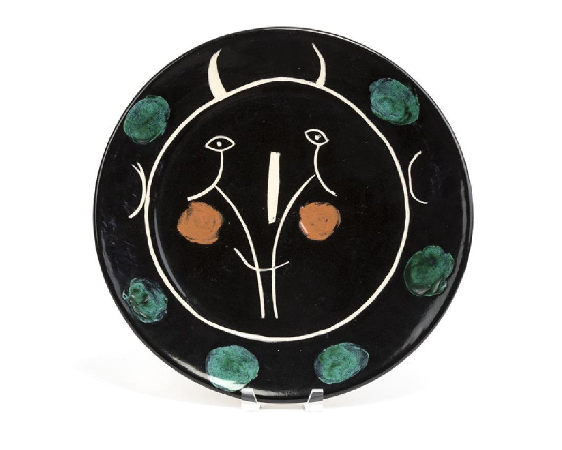 A Pablo Picasso for Madoura art pottery charger