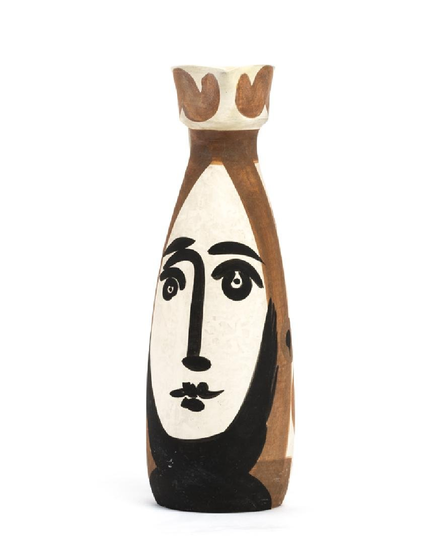 A Pablo Picasso for Madoura ''Visage'' art pottery