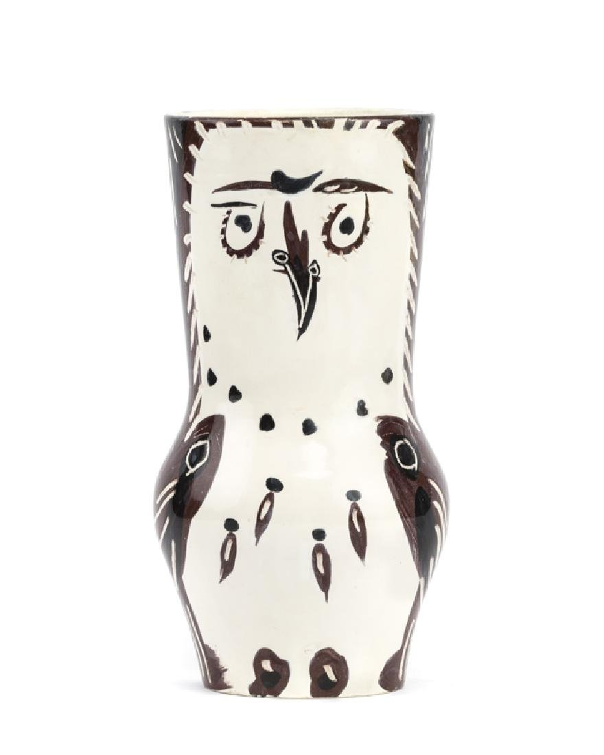 A Pablo Picasso for Madoura owl vase - 3