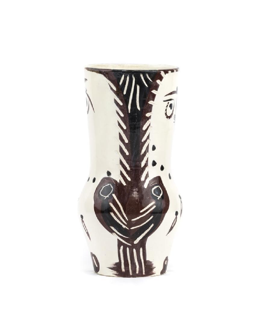 A Pablo Picasso for Madoura owl vase - 4