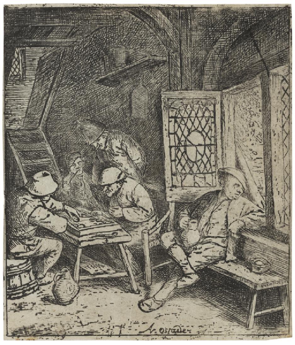 Adriaen Jansz van Ostade (1610 - 1685 Dutch)