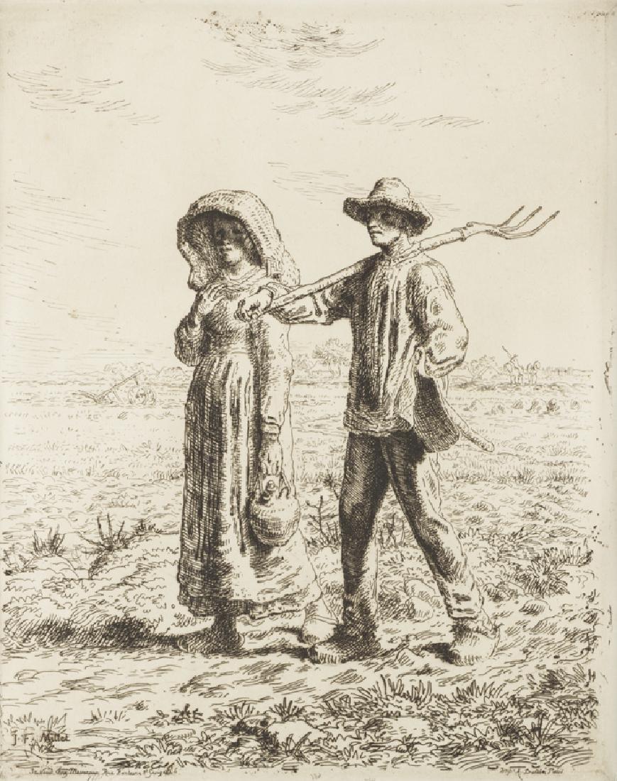 Jean Francois Millet (1814 - 1875 French)