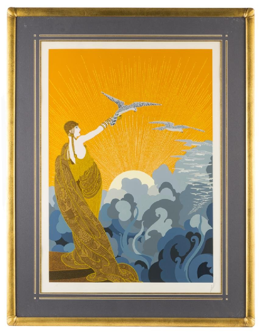 Romain (Erte) de Tirtoff (1892 - 1990 Russian) - 2