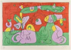 Joan Miro (1893 - 1983 Spanish)