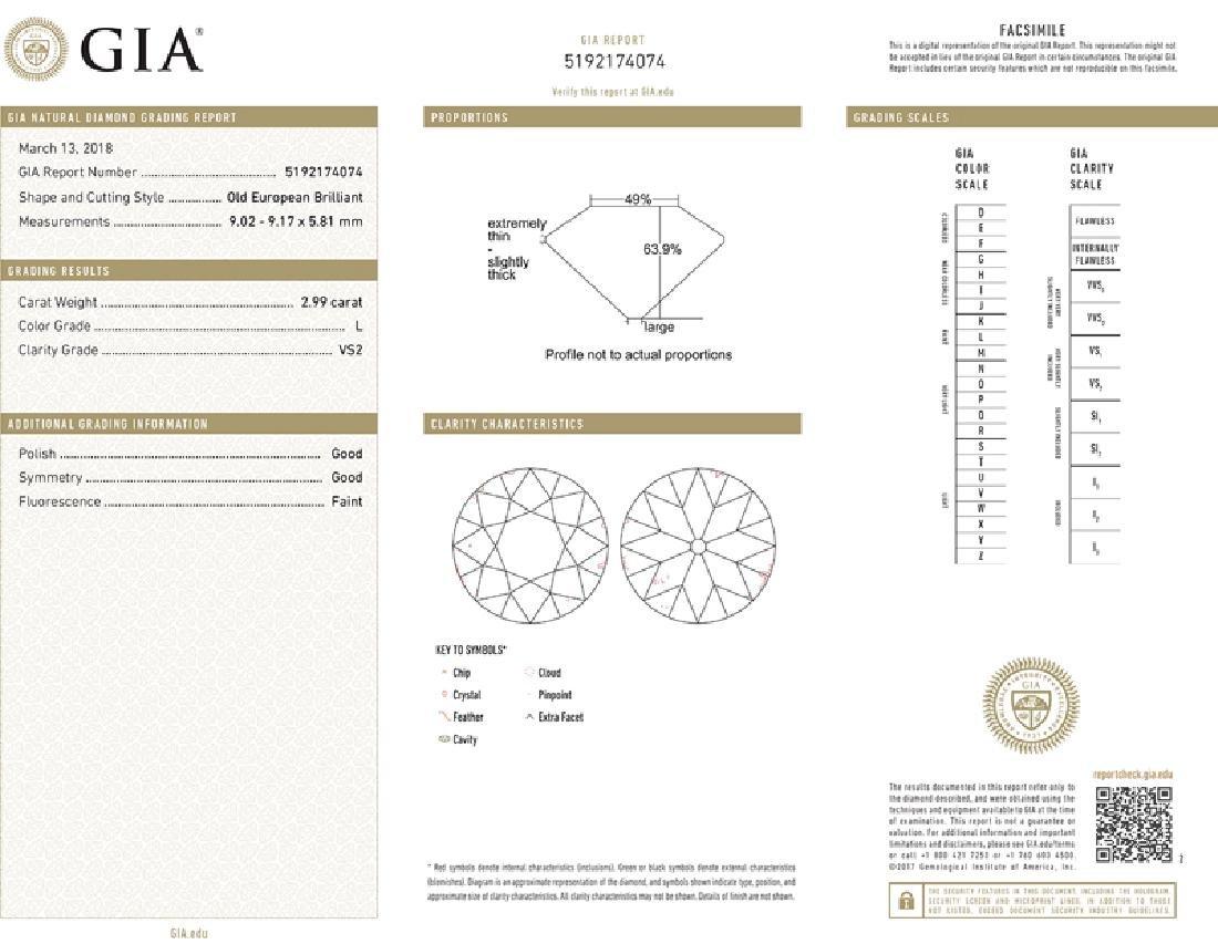 An Art Deco diamond and sapphire ring - 5